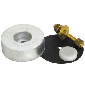 00141: 3.1kg Disc Transom/Stern Anode and Kit