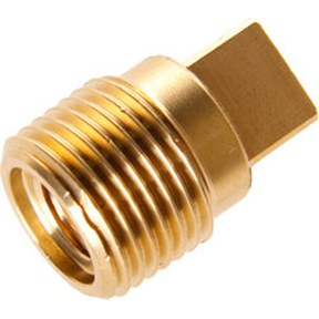"""02003TP: Brass Plug for GM 3/8"""" BSPT"""