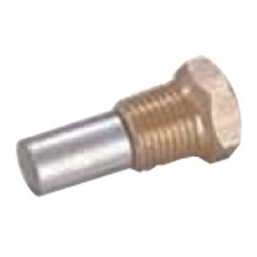 02053T: Pencil Anode and Plug for Bukh Diameter 10mm x Length 18mm