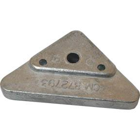 CM872793 Volvo Penta Side Mounted Triangle Anode For 290, 290DP, SX, DP-X