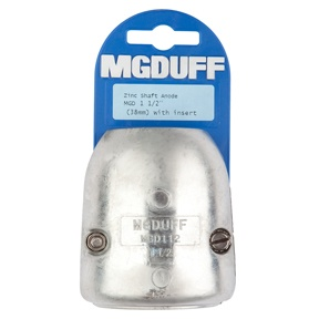 MGD112 To Suit 1 1/2″ Zinc Shaft Anode With Insert