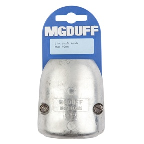 MGD40mm To Suit 40mm Diameter Zinc Shaft Anode With Insert