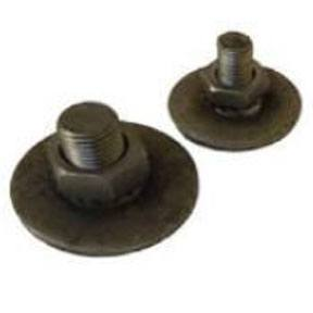 M10st Steel stud assembly, c/w nuts and washer, weld on type