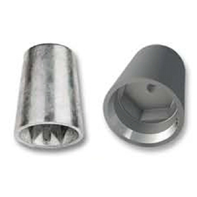 Zinc Radice Hexagon Pattern Propeller Nut Anode