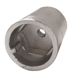 00400E: Series Radice Hexagonal Propeller Anode back