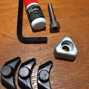 Gori Anode Set With Stops for 3 Blade Propeller